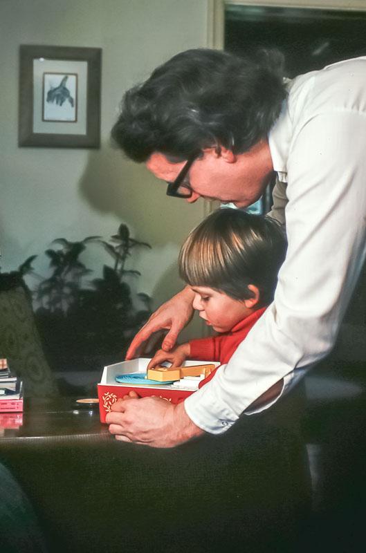Gene and Andrew - December 1978