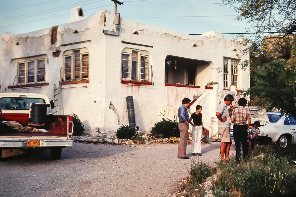 Harold and Cheryl Bentley's Tucson house May 1979
