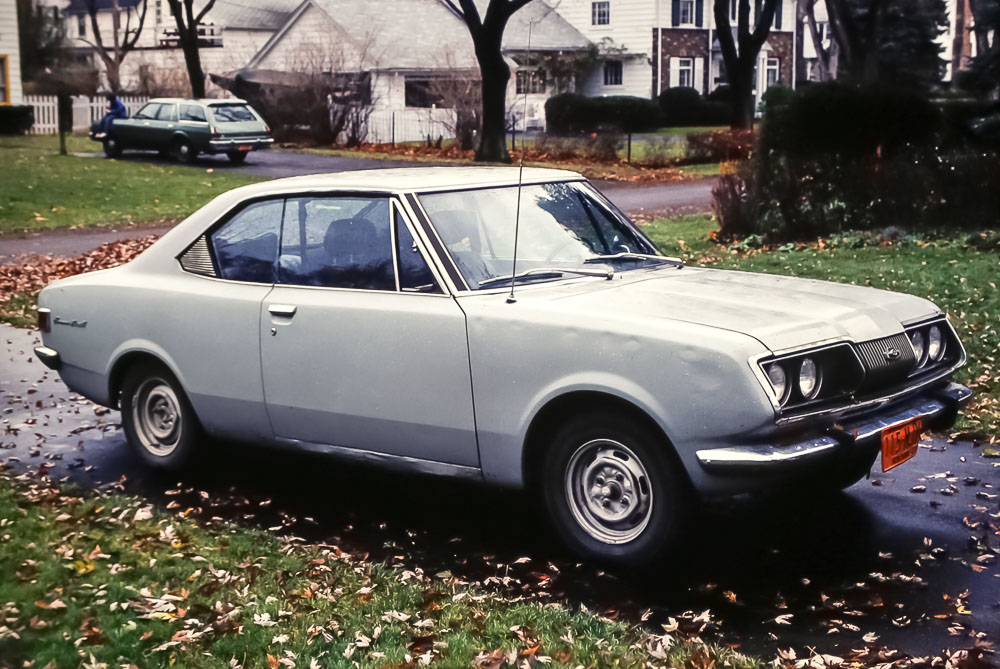 Toyota after hand paint job - November  1979