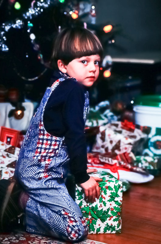 Andrew Christmas 1979