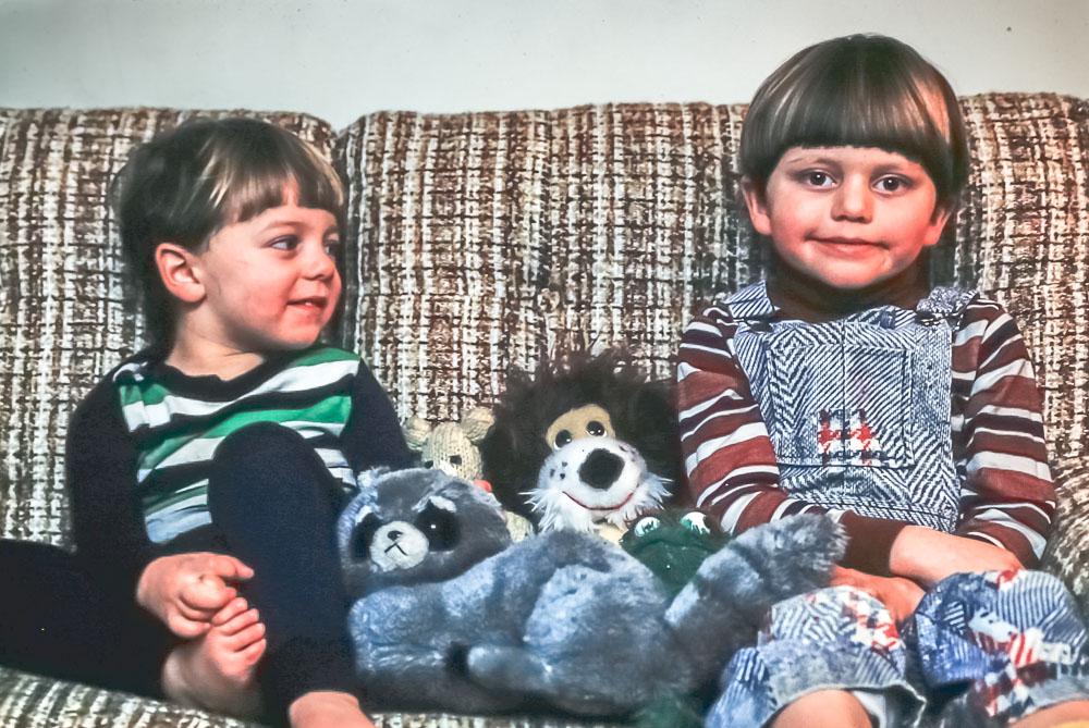 Steven and Andrew - November 1979