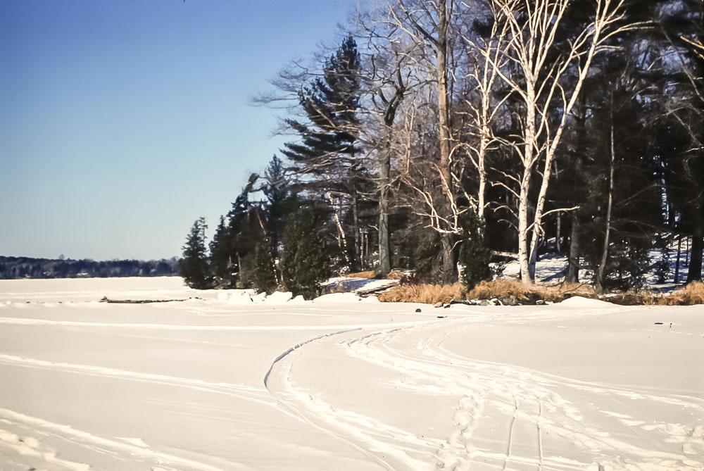 1980 major Island in winter