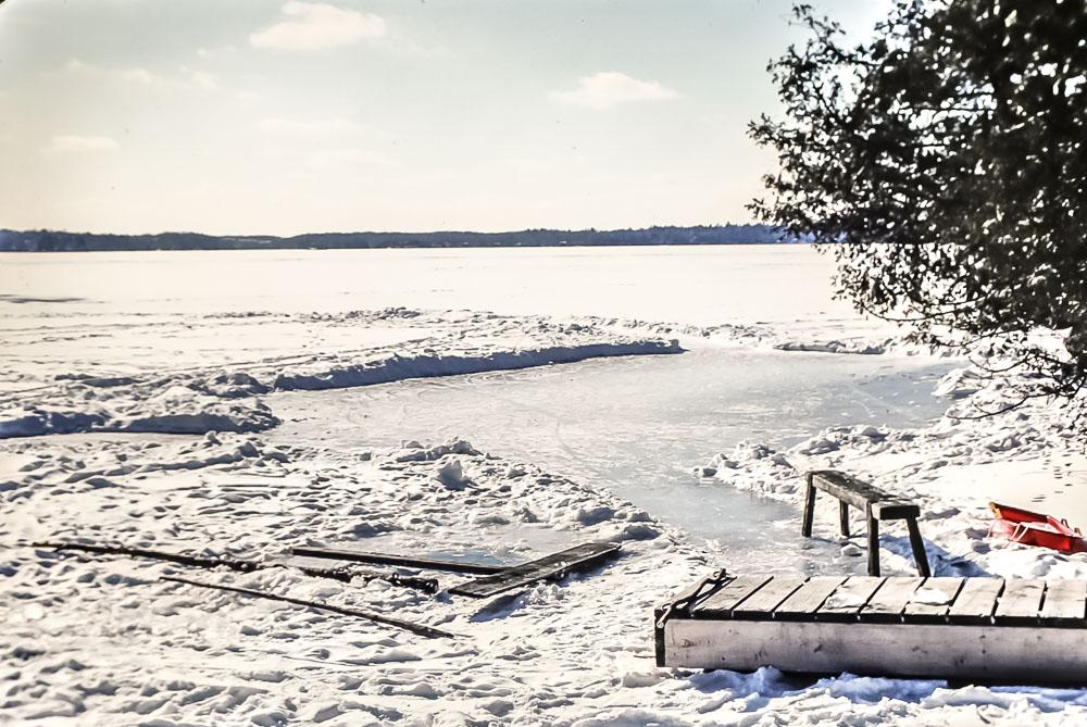 1980 Island in winter