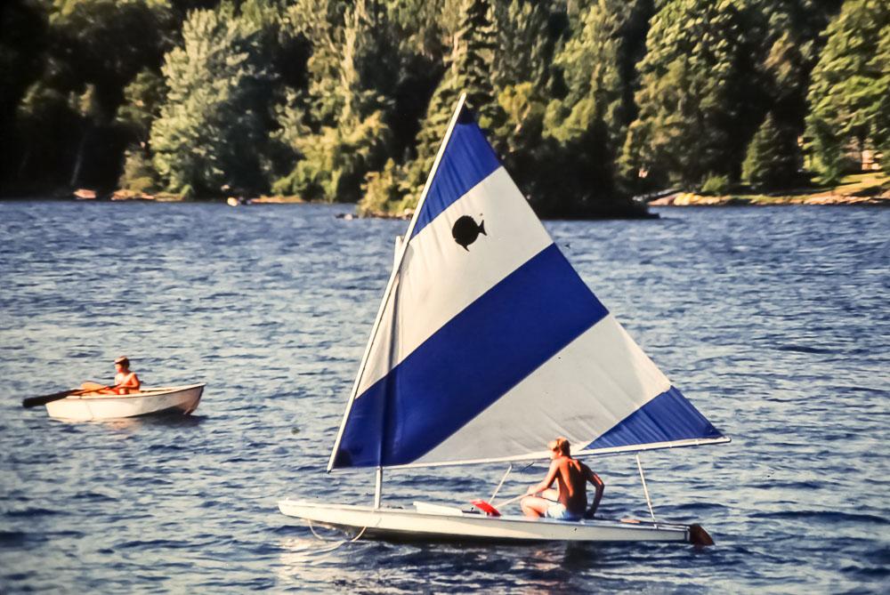 1980 Drew sailing