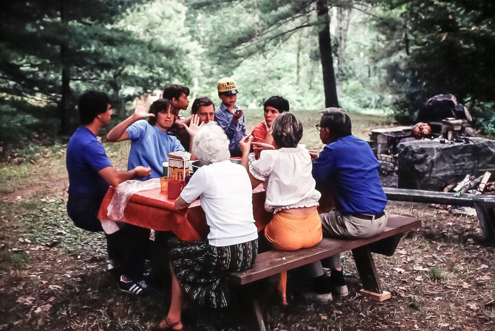 Wedding weekend dinner - July 1980
