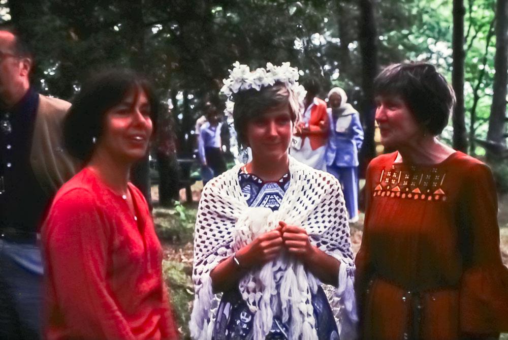 1980 Joan Barnard, Mary, Barbara