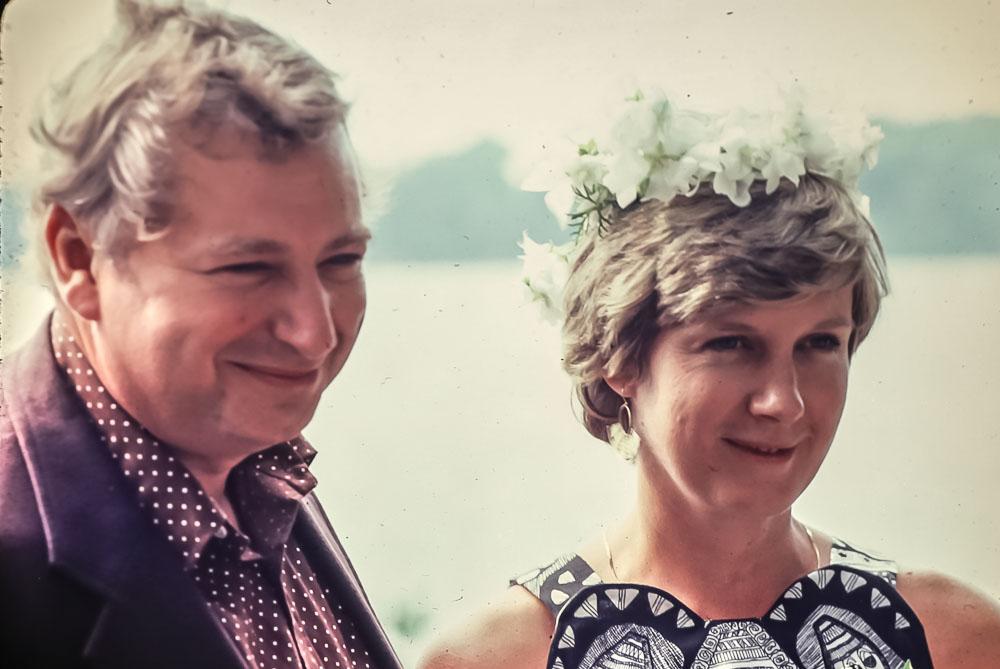 Wedding day - July 5, 1980