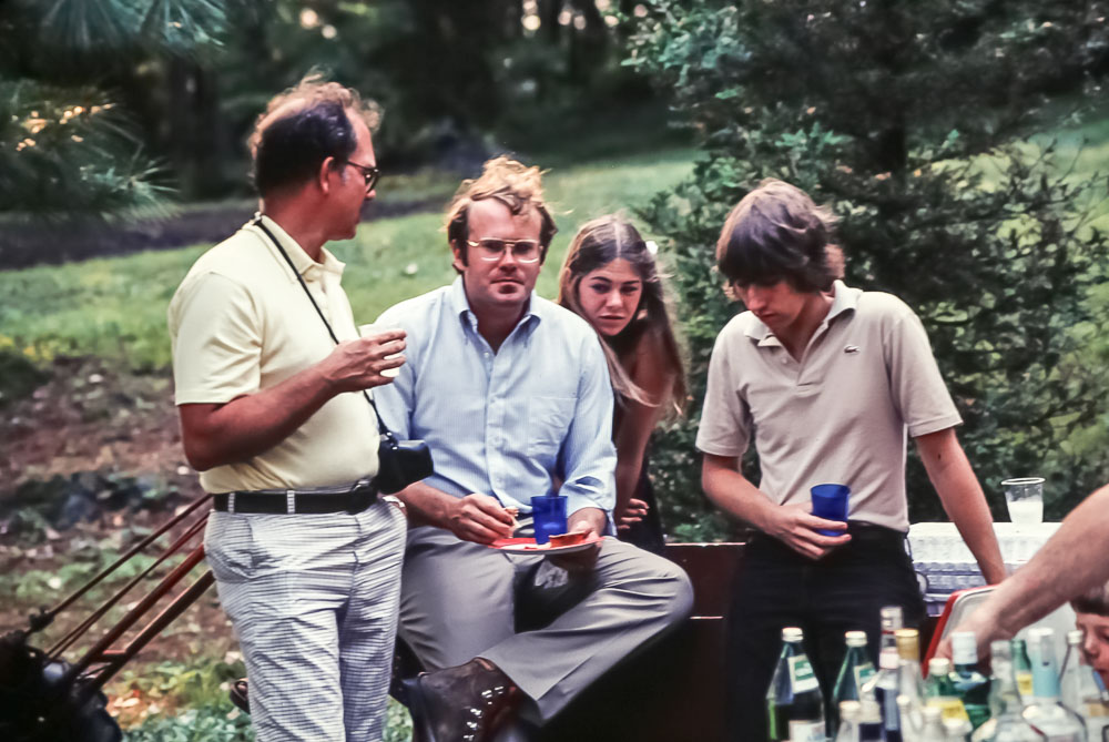 Jack Barnard, Johnny Ingham, Kristin and Alex Lilly