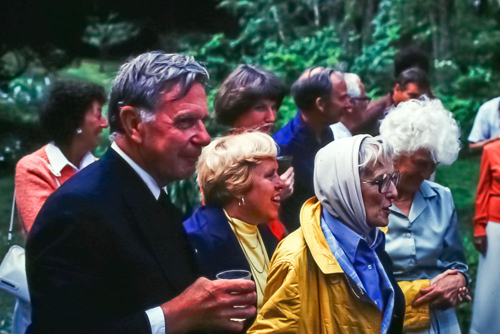 1980 Wedding guests