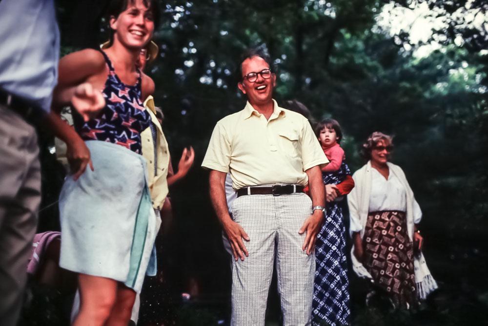 Al got wet - July 1980