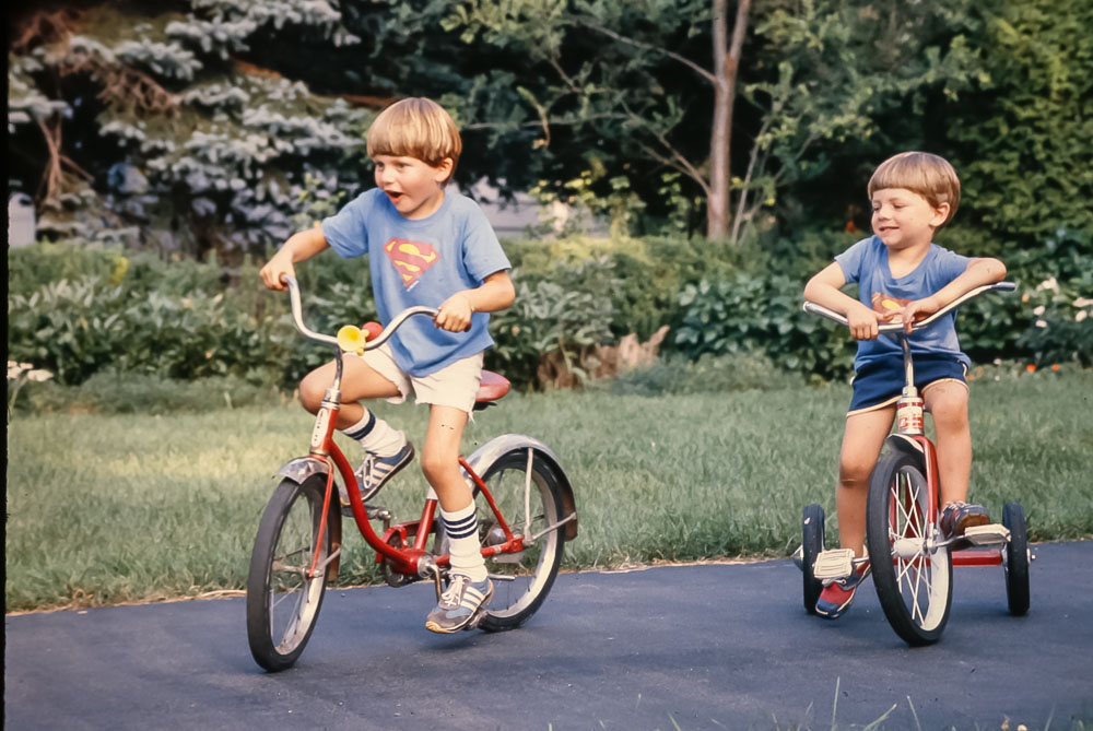 Andrew and Steven - August 1980