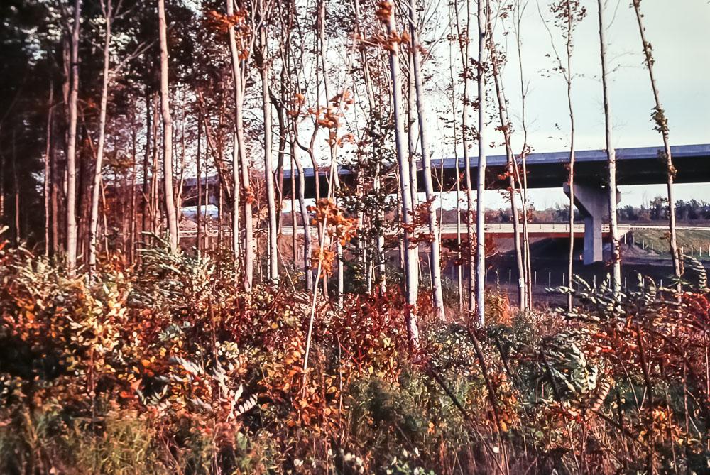 New I-390  next to Brighton Park - November 1980