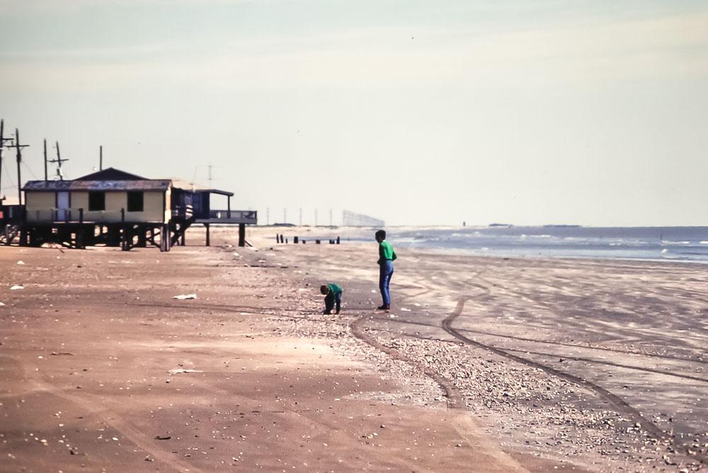 Louisiana beach - November 1980