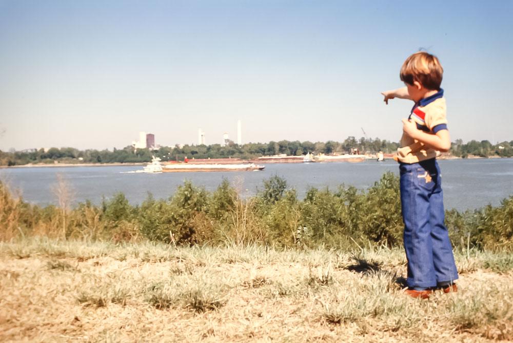 Mississippi River- November 1980