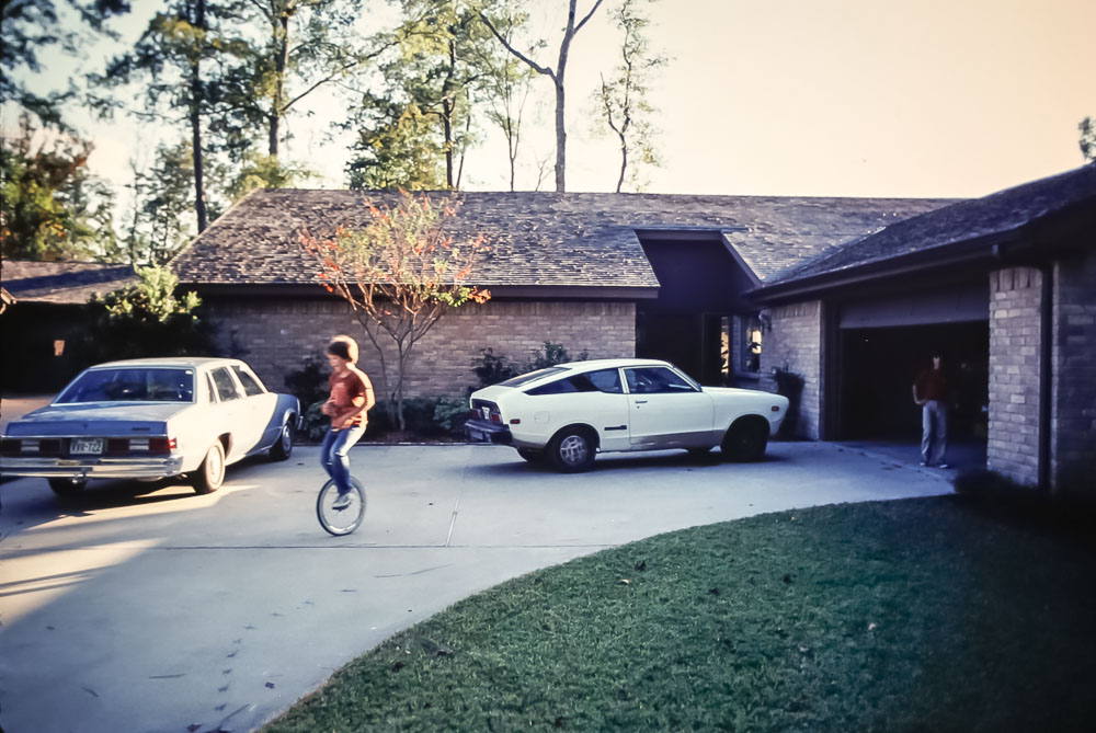 1980 Barry and Mary's Kingwood home