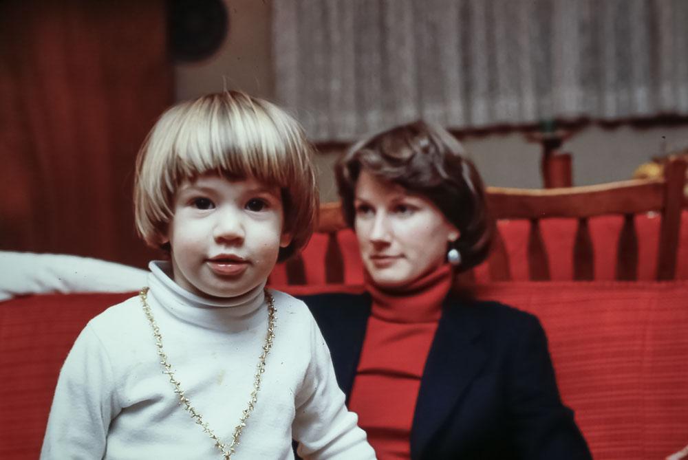 Allyn and Liz - December 1980