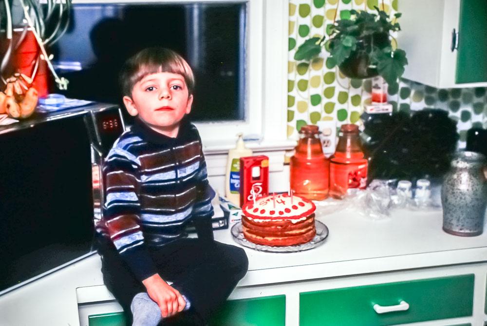 Steven is four - February 1981