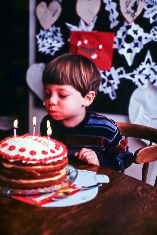 1981  Steven's birthday
