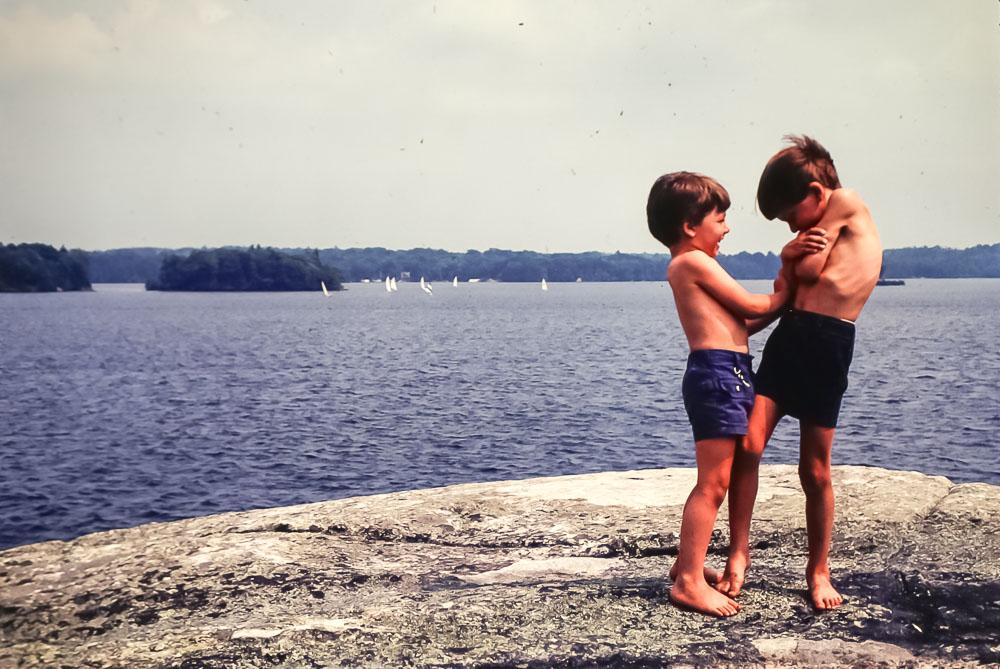 Rock Island view of race - July 1981