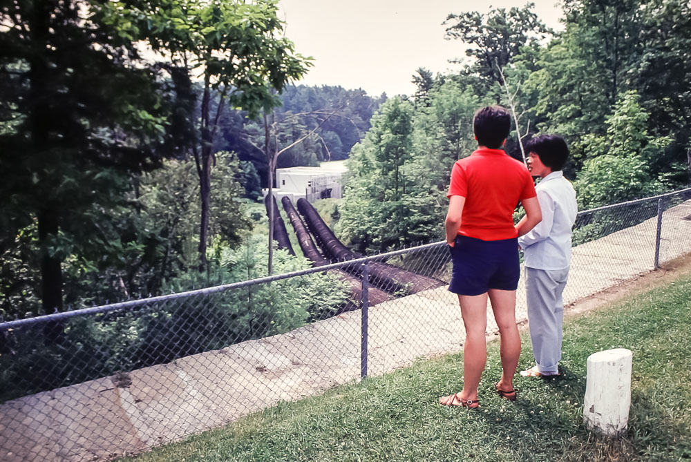 Hydroelectric plant at Jones Falls - August 1981