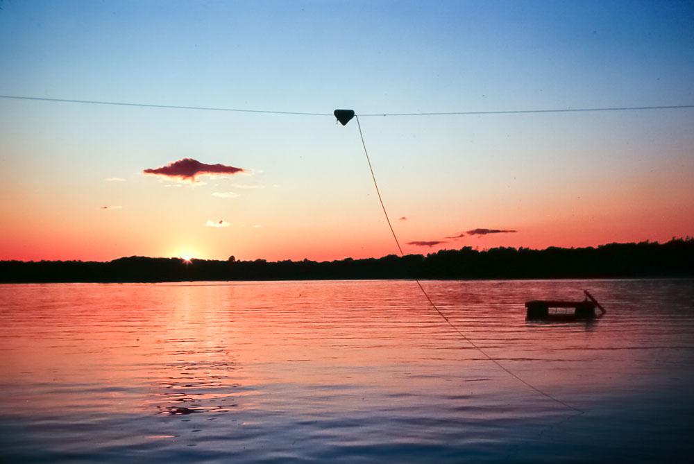 1981 Island sunset