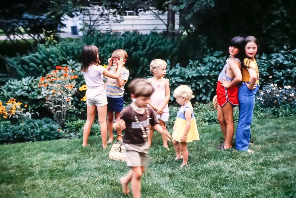 Pickford kids - September 1981