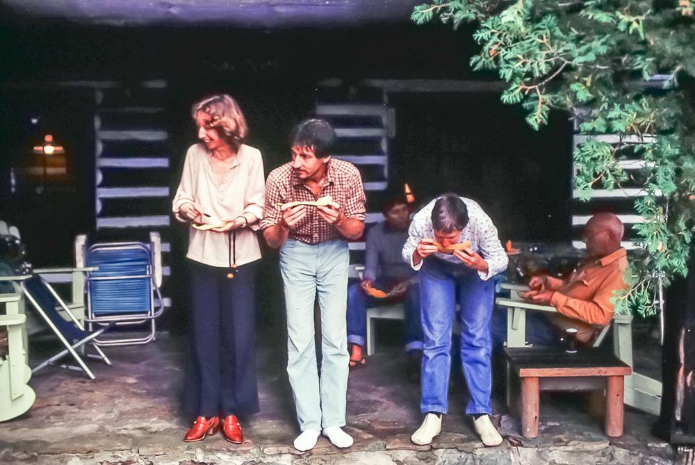Tanya, Jack,  Barbara, and Bill - September 1981