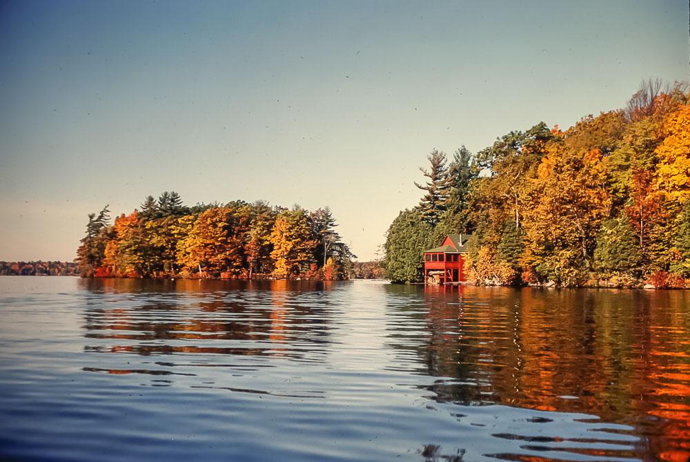 Fall at the Island - October 1981