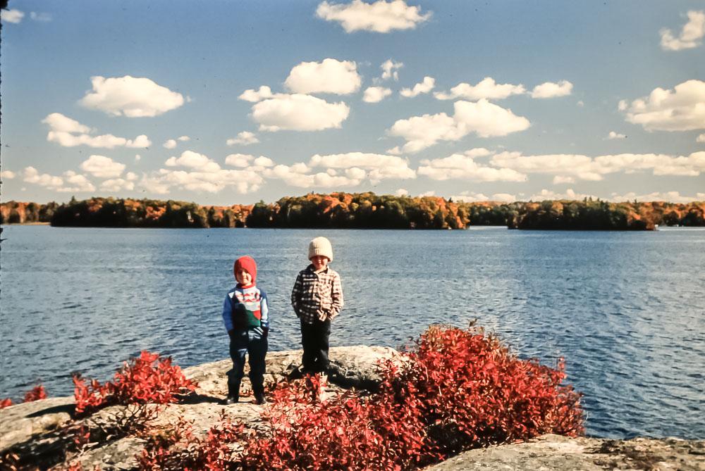 Rock Island in fall - October 1981