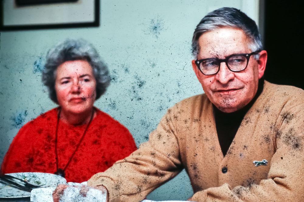 Mama Dot and Grampa Ed - Christmas 1981