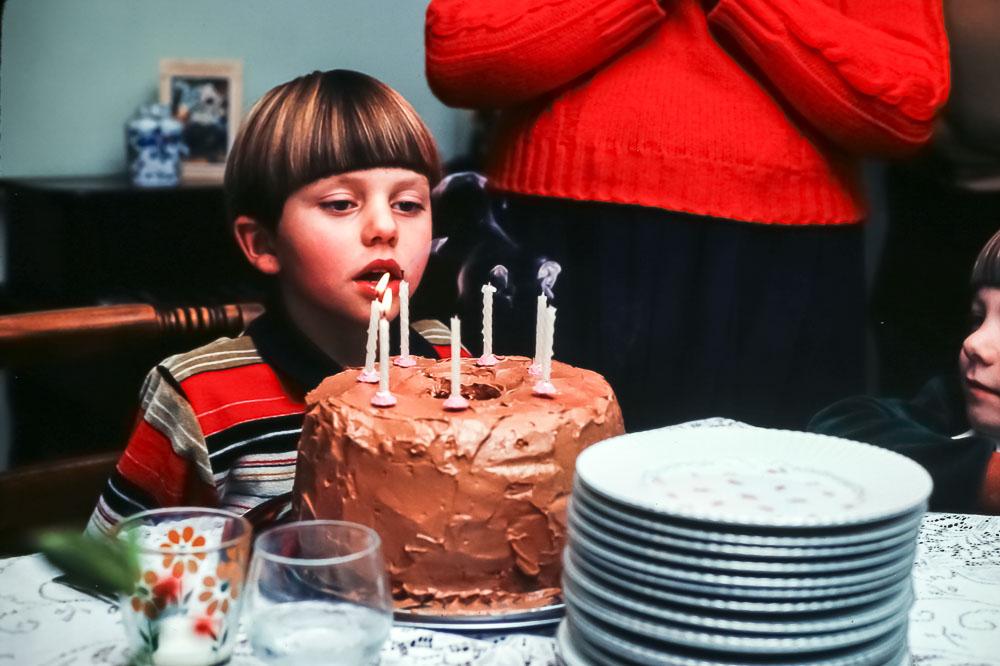 1981 Andrew's birthday