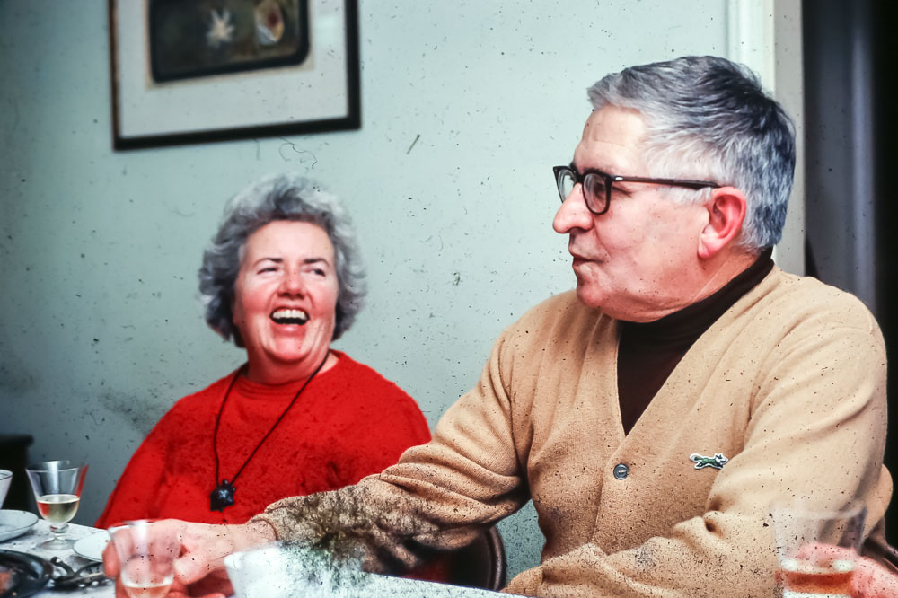 Mama Dot and Grampa Ed - December 1981