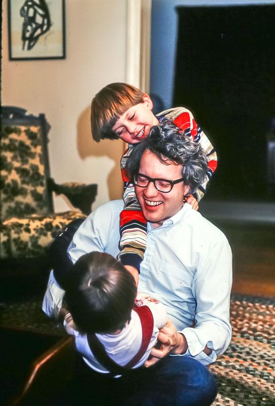 Steven, Gene, Andrew - December 1981