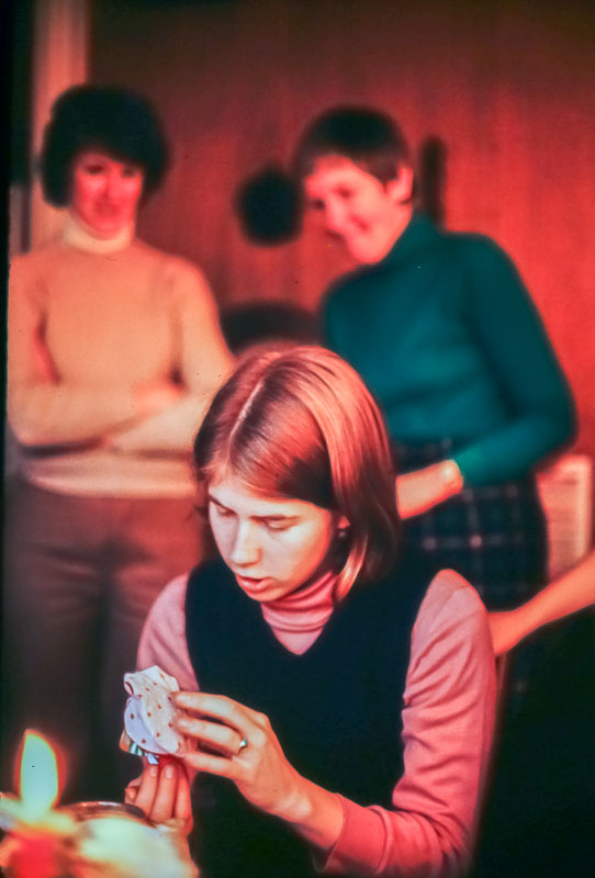 Liz, Page, Barbara - December 1981
