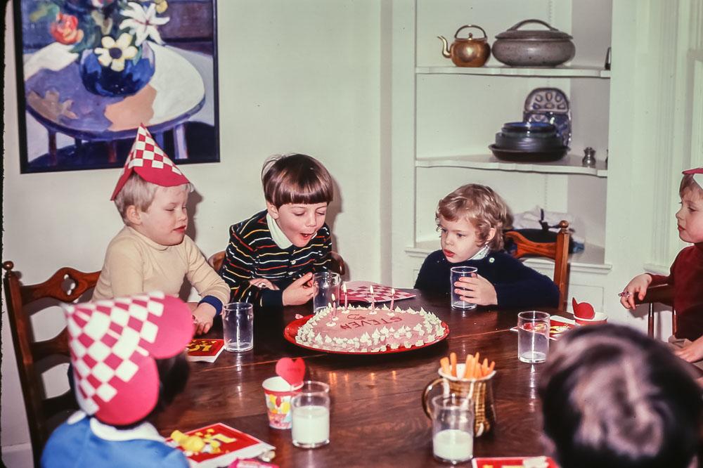 Steven's birthday - February 1982