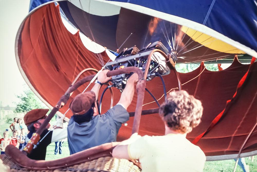 1982 Balloon launch