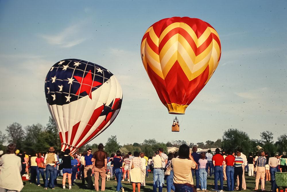 Balloon launch - May 1982