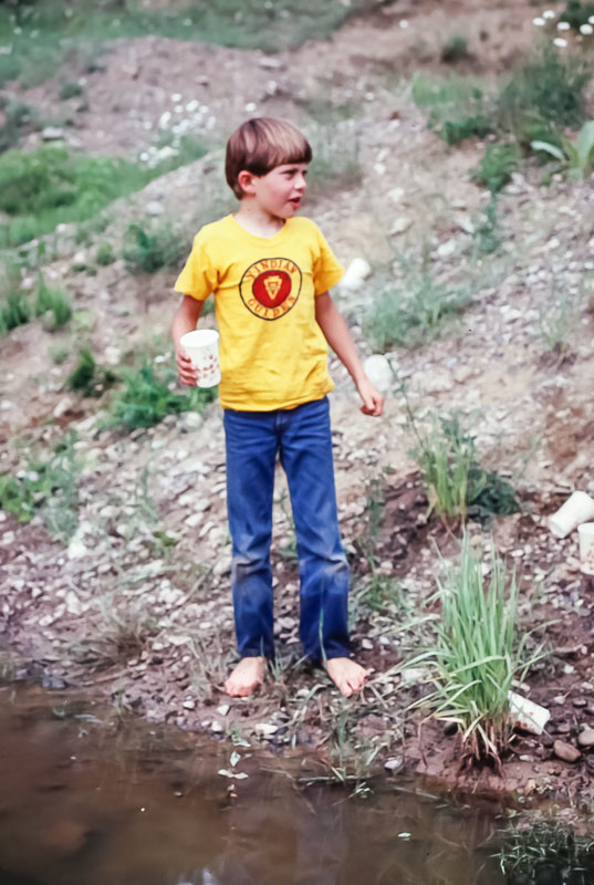 1982 Hunting for tadpoles