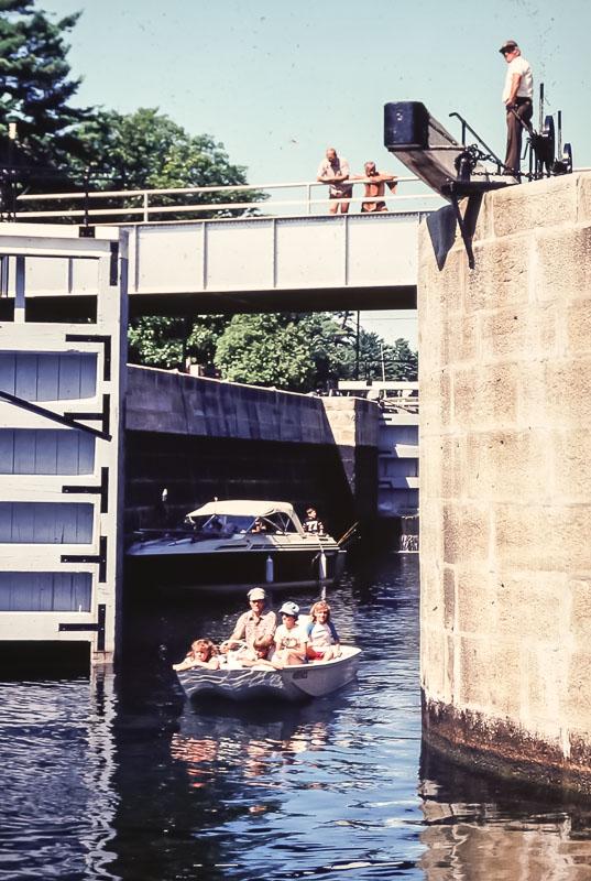 1982 Trip through the locks