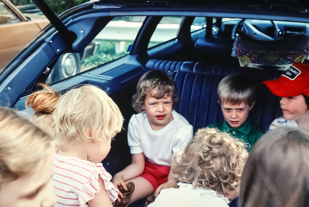 1983 Courtney's birthday party