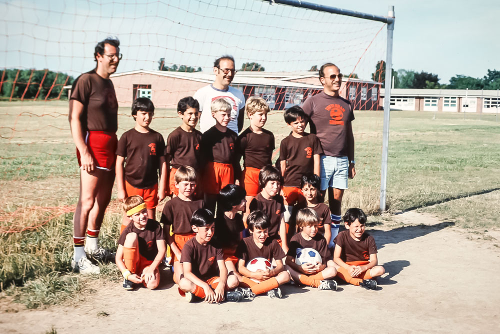 Brighton Soccer  - Tottingham Browns - August 1983