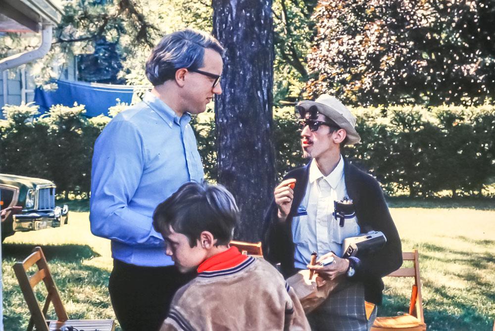 Gene with Freddie Kingsbury - August 1983