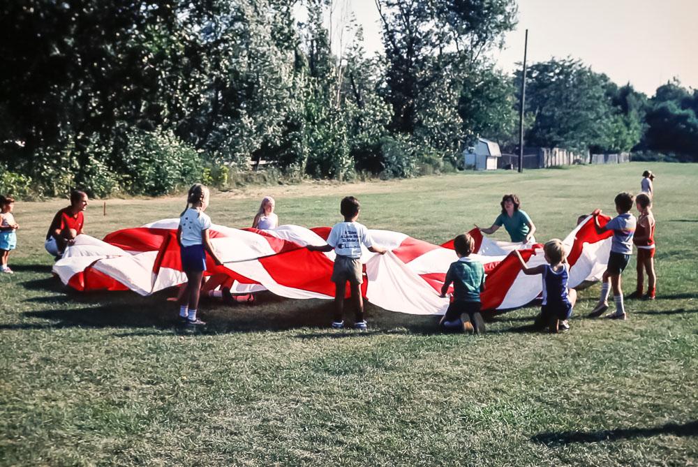 1983 Evans Farm picnic