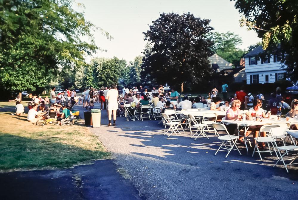 Evans Farm Picnic - September 1983