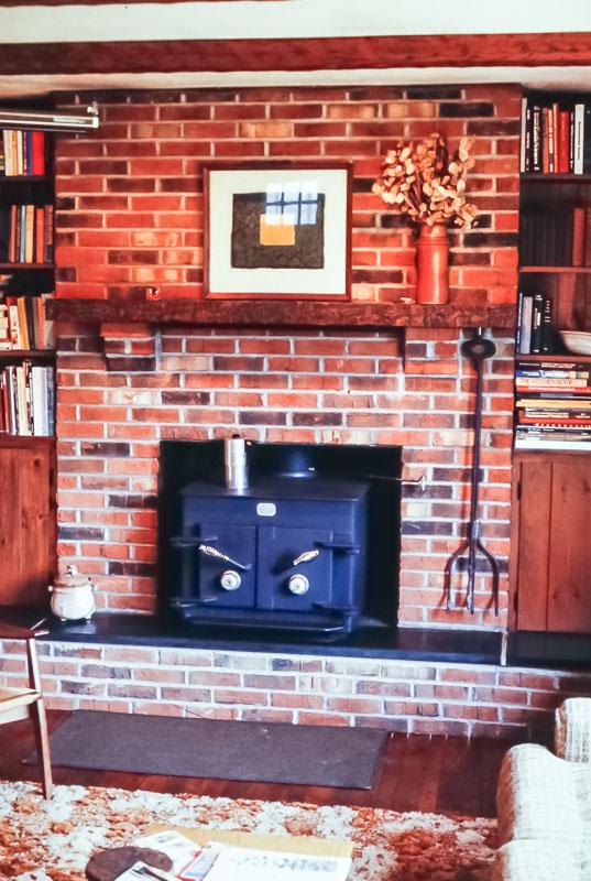 Fireplace insert Danforth - November 1983
