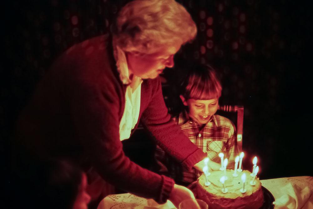 Andrew's birthday - December 1983