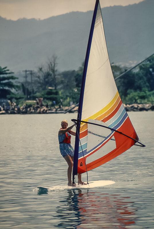 Margie  - Cayman Island trip - March 1984