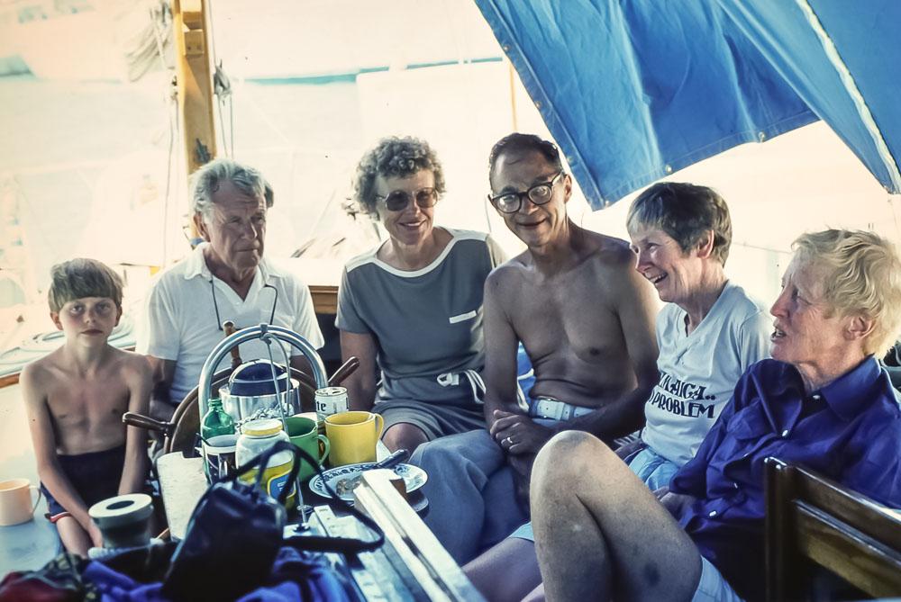 Cayman Island trip - Bancroft, Elmore, Putnam - March 1984