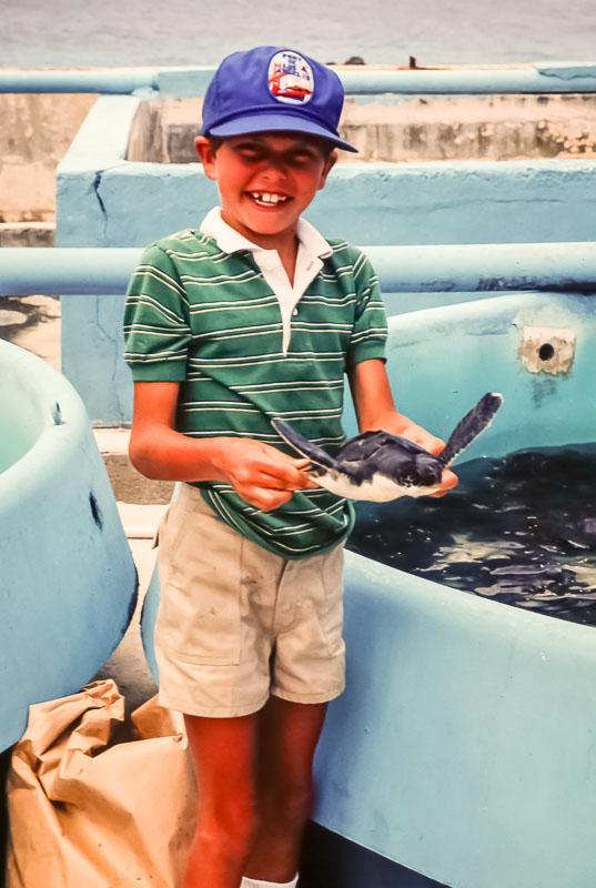 Cayman Island trip - March 1984