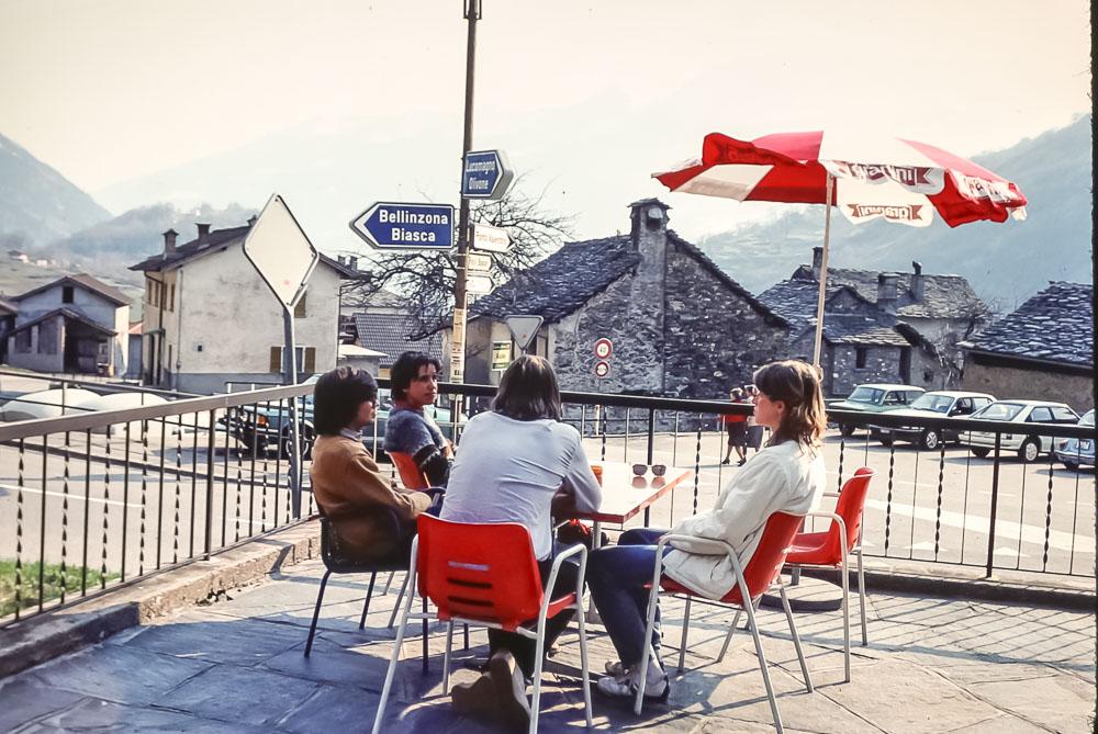 Zurich trip - April 1984